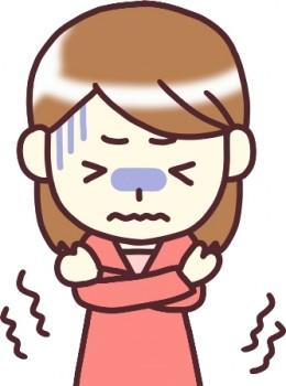 体が震えて熱がないのに寒気がする悪寒戦慄とは?対処方法を知りたい