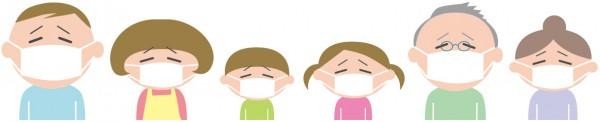 インフルエンザに家族が感染する確率は?いつまで警戒?出勤は?