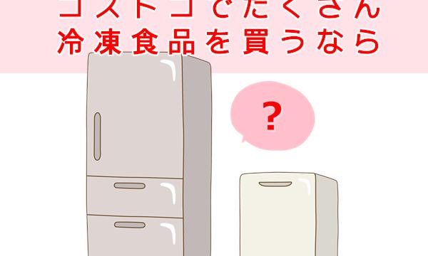 コストコの商品が冷凍庫に入らない!おすすめ冷凍庫と冷食の持ち帰り方