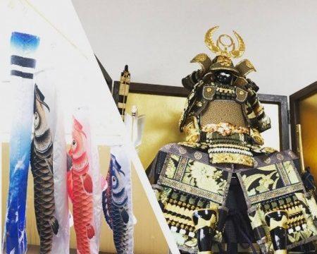 五月人形や兜は何歳まで飾るもの?鯉のぼりや鎧兜の処分方法は