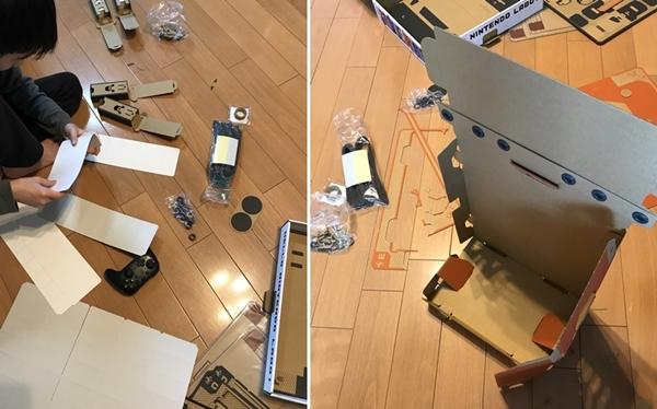 Nintendo Laboのロボットを作る