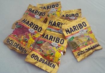 ハリボーの小袋