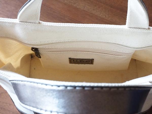 L.L.Beanショルダートート(スモール)内ポケット