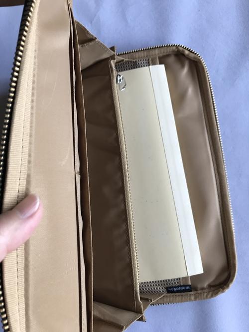 おおきいひきだしポーチにほぼ日手帳カズン