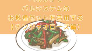 ヘルシオでパルシステムのお料理セットを活用する【チンジャオロース編】