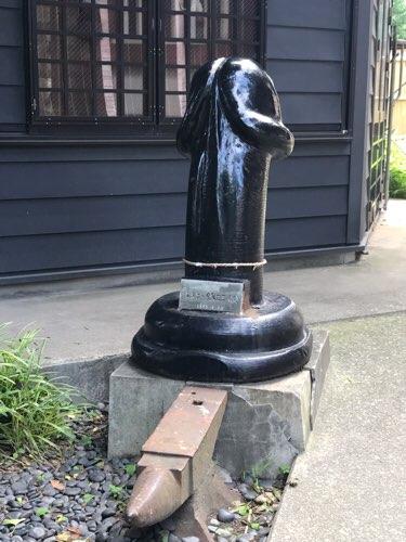 金山神社の男根