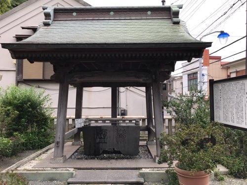西叶神社の手水舎