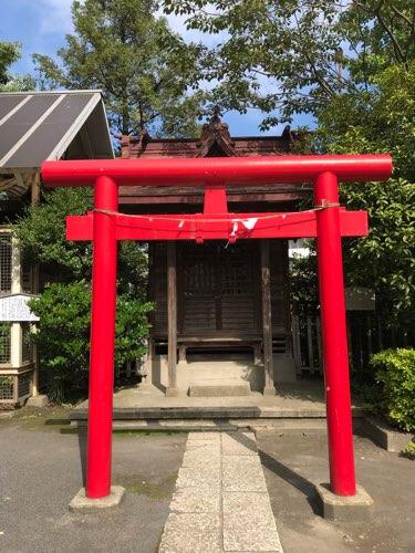 稲毛神社の境内社・大鷲神社(おおとりじんじゃ)