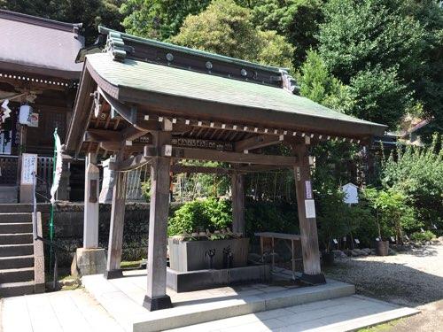 瀬戸神社の手水舎