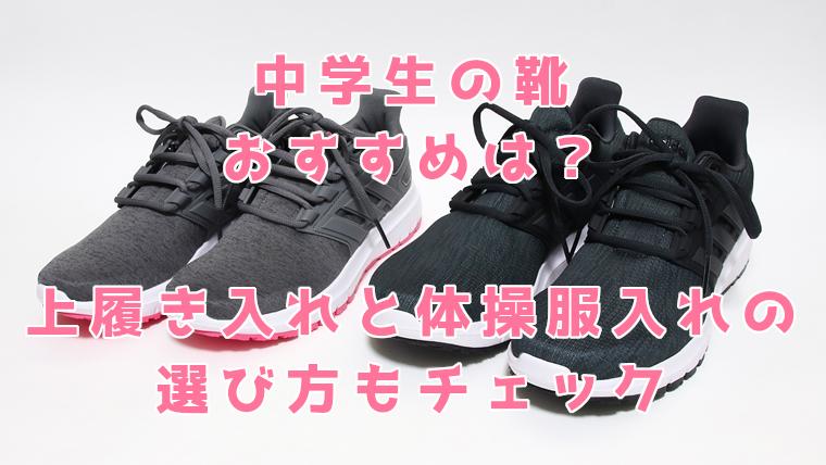 中学生の靴でおすすめは?上履き入れや体操服入れの選び方