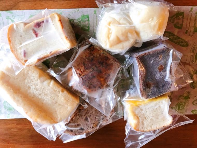 パンスクのノヒトバカラベーカリーのパン