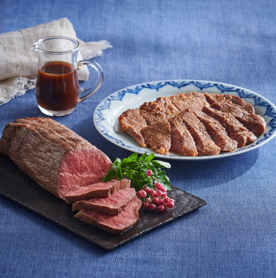 グラホの黒毛和牛ローストビーフと和牛味噌漬けギフトセット