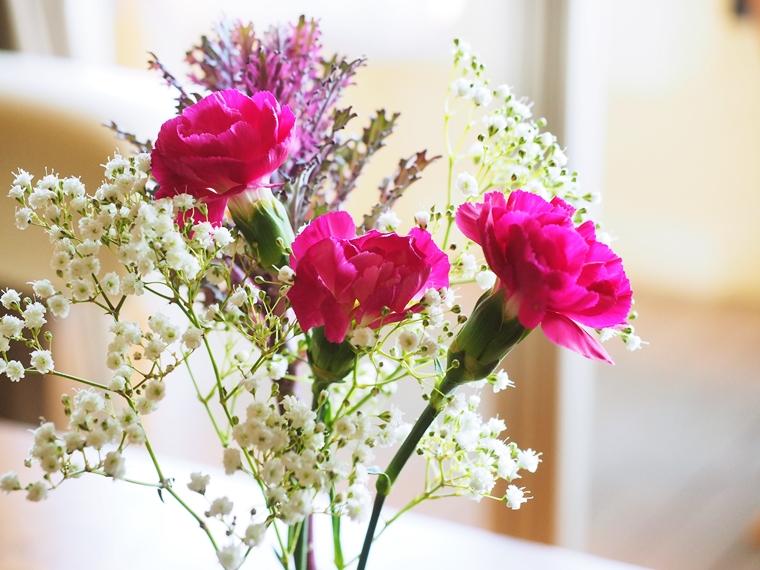 お花の経過-4日目、キレイに咲きました